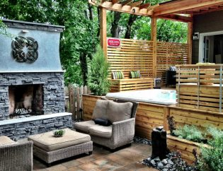 Backyard Living Space